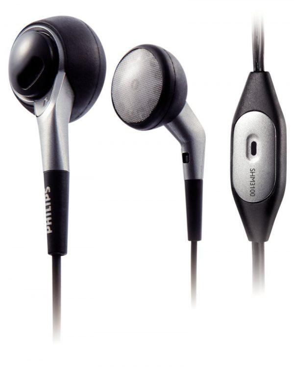 Philips ακουστικά ψείρες με μικρόφωνο SHM3100U/10