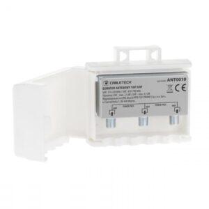 VHF/UHF combiner κεραίας - power pass
