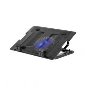 Βάση με Ανεμιστήρα για Laptop 14-17   Μαύρη