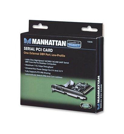 Manhattan κάρτα PCI σειριακής θύρας