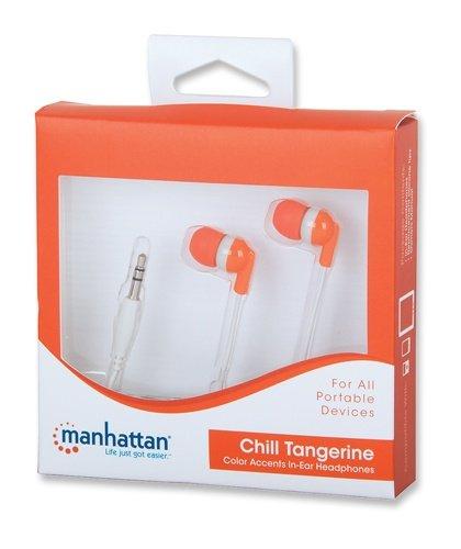 Manhattan ακουστικά in-ear πορτοκαλί