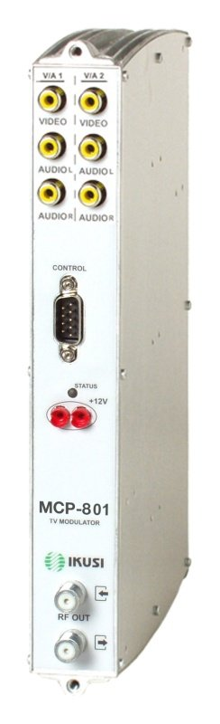 IKUSI διπλό VSB TV modulator MCP-801