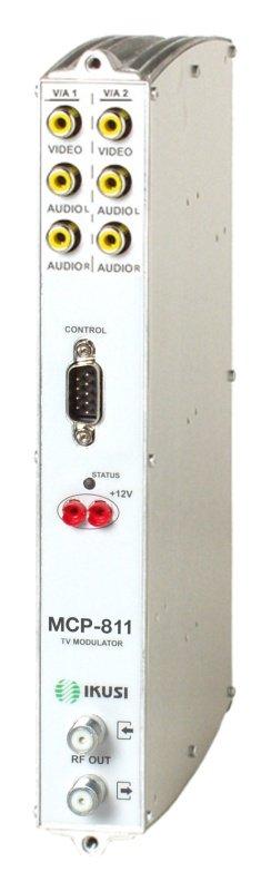 IKUSI διπλό VSB TV modulator MCP-811