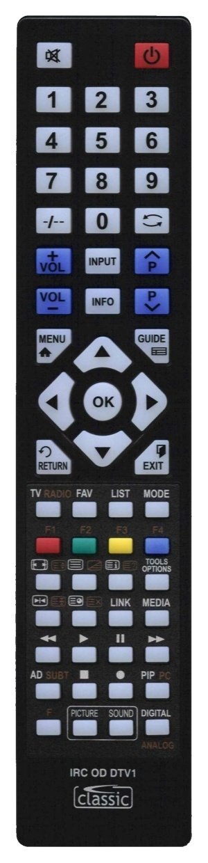 Classic προγραμματιζόμενο τηλεχειριστήριο IRC84053-DTV1