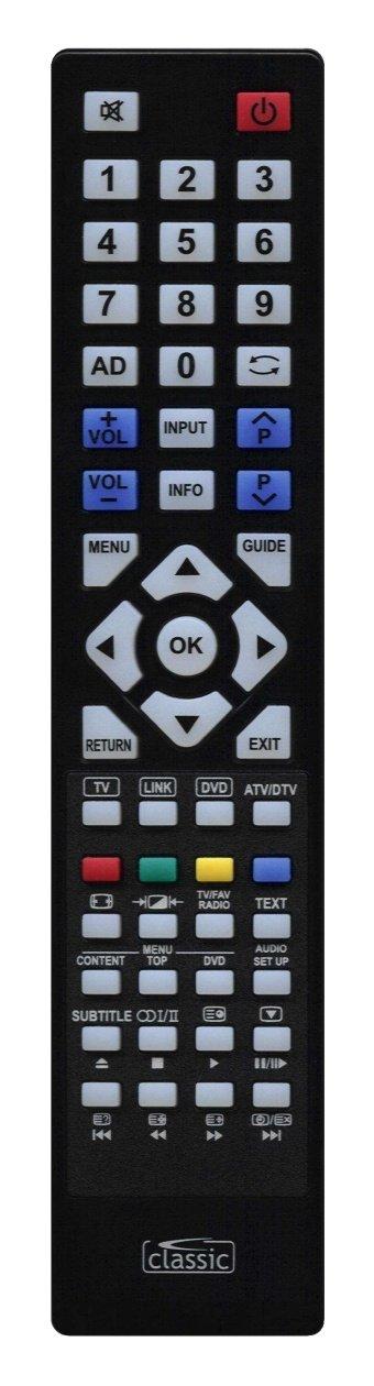 Classic τηλεχειριστήριο IRC87021 για Toshiba LCD-TV