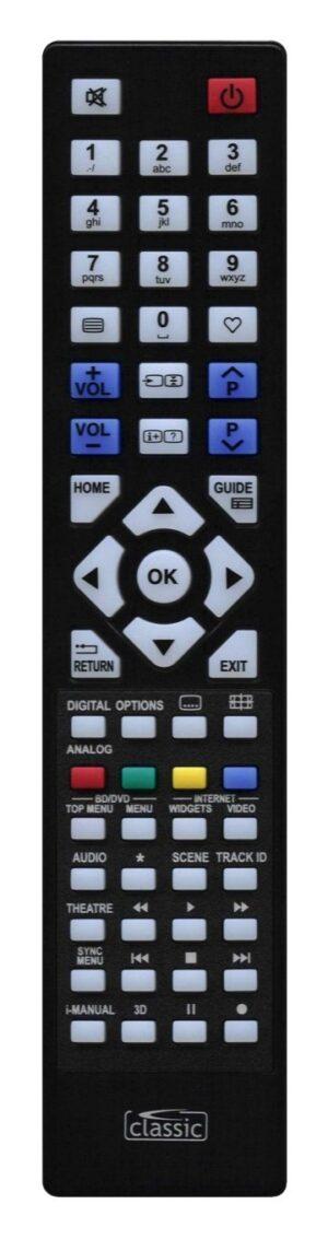 Classic τηλεχειριστήριο IRC87038 για Sony LCD-TV
