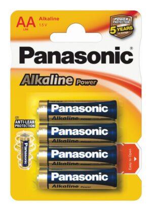Panasonic μπαταρίες αλκαλικές AA 1,5V 4τμχ