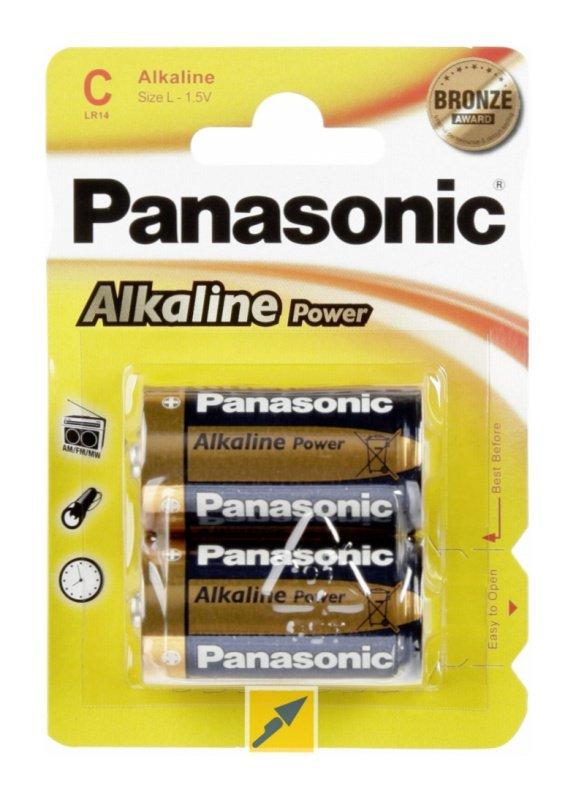 Panasonic μπαταρίες αλκαλικές C 1,5V 2τμχ