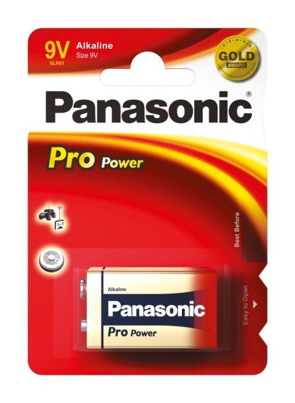 Panasonic μπαταρία αλκαλική Pro 9V