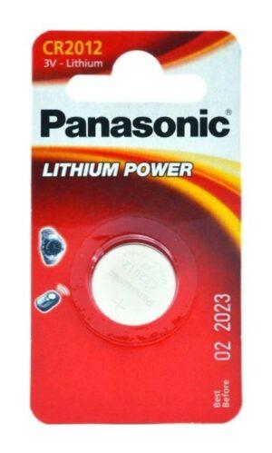 Panasonic CR2012 μπαταρία λιθίου 3V