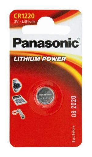 Panasonic CR1220 μπαταρία λιθίου 3V