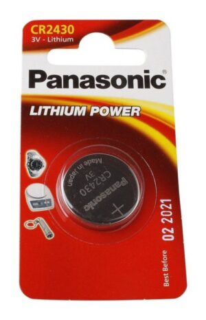 Panasonic CR2430 μπαταρία λιθίου 3V