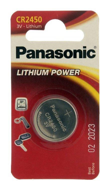 Panasonic CR2450 μπαταρία λιθίου 3V