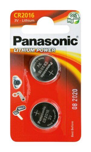 Panasonic CR2016 μπαταρίες λιθίου 3V 2τμχ