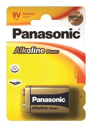 Panasonic μπαταρία αλκαλική 9V