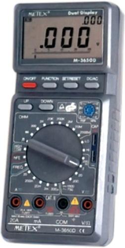 METEX ψηφιακό πολύμετρο M-3650D