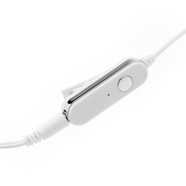 HF Set Mega Bass για iPhone 55S5SE5c66s bulk άσπρο