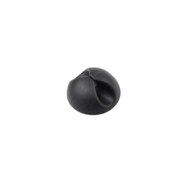 Κλιπάκι Σταθεροποίησης καλωδίων μαύρο clipper