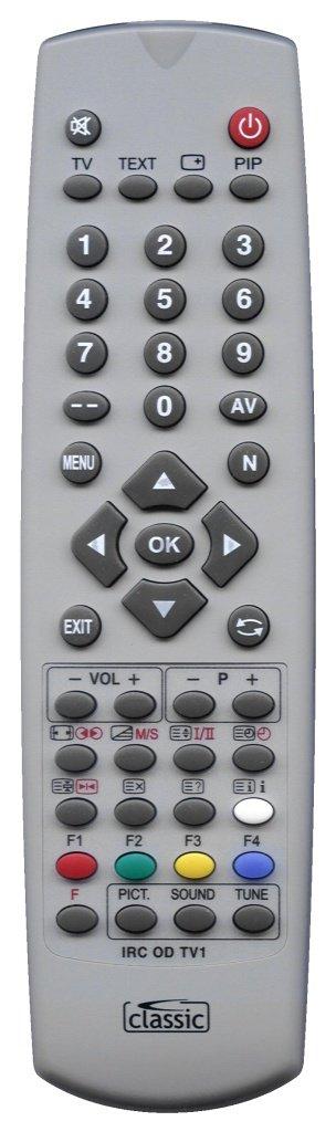 Classic προγραμματιζόμενο τηλεχειριστήριο IRC84051-TV1