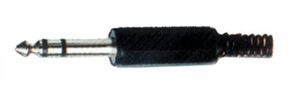 Φις Jack 6.35mm Stereo Αρσενικό