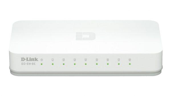 D-Link GO-SW-8E 100Mbps Ethernet Switch 8 θυρών
